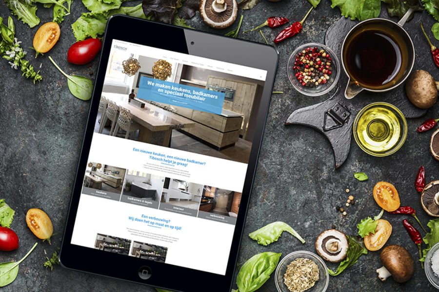 Nieuwe website Tibosch