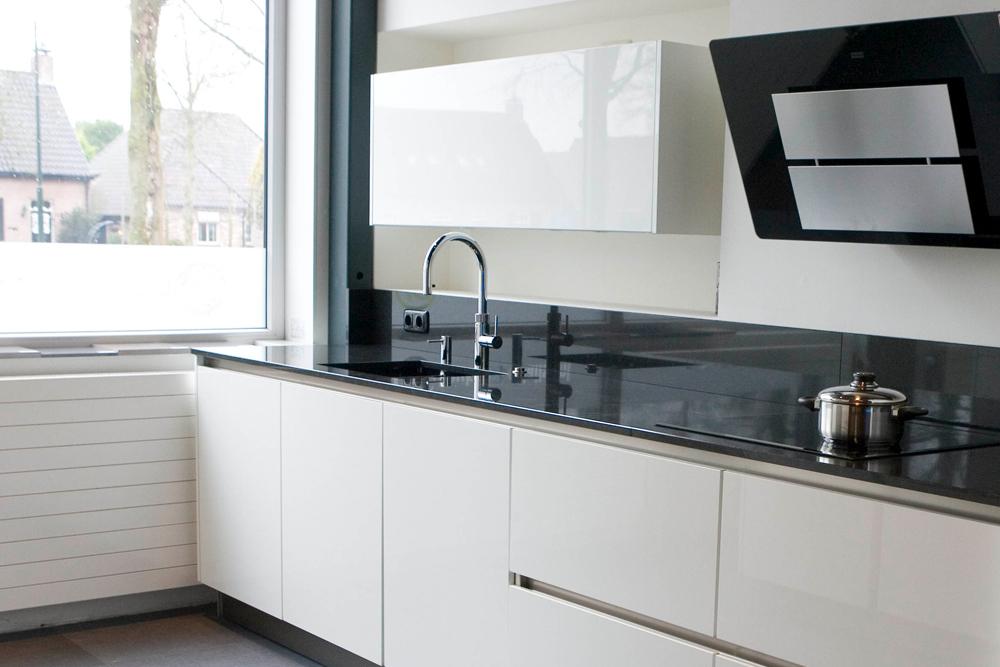 Moderne greeploze keuken tibosch